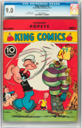 Platinum Age (1897-1937):Miscellaneous, King Comics #19 (David McKay Publications, 1937) CGC VF/NM 9.0 Cream to off-white pages....