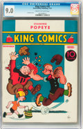 Platinum Age (1897-1937):Miscellaneous, King Comics #20 (David McKay Publications, 1937) CGC VF/NM 9.0 Cream to off-white pages....