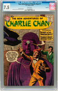 Silver Age (1956-1969):Mystery, The New Adventures of Charlie Chan #1 Savannah pedigree (DC, 1958)CGC VF- 7.5 Cream pages....