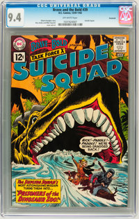 The Brave and the Bold #39 Suicide Squad - Savannah pedigree (DC, 1962) CGC NM 9.4 Off-white pages