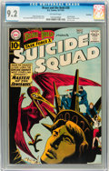Silver Age (1956-1969):Superhero, The Brave and the Bold #38 Suicide Squad - Savannah pedigree (DC, 1961) CGC NM- 9.2 Off-white pages....