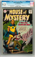 Silver Age (1956-1969):Science Fiction, House of Mystery #104 Savannah pedigree (DC, 1960) CGC NM- 9.2Cream to off-white pages....