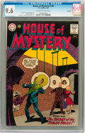 Silver Age (1956-1969):Science Fiction, House of Mystery #136 Savannah pedigree (DC, 1963) CGC NM+ 9.6Off-white to white pages....