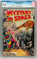 Silver Age (1956-1969):Science Fiction, Mystery in Space #68 Savannah pedigree (DC, 1961) CGC VF/NM 9.0Cream to off-white pages....