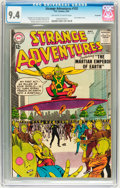 Silver Age (1956-1969):Science Fiction, Strange Adventures #152 Savannah pedigree (DC, 1963) CGC NM 9.4Off-white to white pages....