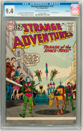 Silver Age (1956-1969):Science Fiction, Strange Adventures #137 Savannah pedigree (DC, 1962) CGC NM 9.4Off-white to white pages....
