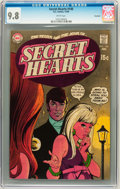 Silver Age (1956-1969):Romance, Secret Hearts #140 Savannah pedigree (DC, 1969) CGC NM/MT 9.8 White pages....