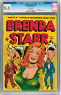 Golden Age (1938-1955):Crime, Brenda Starr #13 (#1) (Superior, 1947) CGC NM 9.4 White pages....