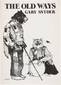 Books:Signed Editions, Gary Snyder. SIGNED. The Old Ways. Six Essays. [San Francisco]: City Lights Books, [1977]. First edition, first ...
