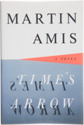 Books:Signed Editions, Martin Amis. SIGNED. Time's Arrow. Or. The Nature of the Offense. New York: Harmony Books, [1991]. First edition...