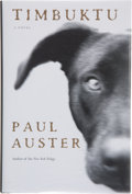 Books:Signed Editions, Paul Auster. SIGNED. Timbuktu. New York: Henry Holt and Company, [1999]. First edition, first printing. Signed and...