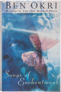 Books:First Editions, Ben Okri. Songs of Enchantment. London: Jonathan Cape,[1993]. First edition, first printing. Publisher's original b...