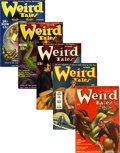 Pulps:Horror, Weird Tales Group (Popular Fiction, 1939-42).... (Total: 5 Items)