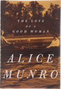 Books:First Editions, Alice Munro. The Love of a Good Woman. Stories. NewYork: Alfred A. Knopf, 1998. First edition. Publisher's orig...