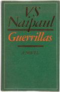 Books:First Editions, V. S. Naipaul. Guerrillas. [London]: Andre Deutsch, [1975].First edition, first impression. Publisher's original bi...