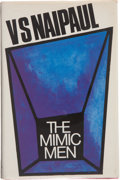 Books:First Editions, V. S. Naipaul. The Mimic Men. [London]: Andre Deutsch,[1967]. First edition, first impression. Publisher's original...