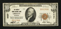 National Bank Notes:Colorado, Greeley, CO - $10 1929 Ty. 1 The Greeley Union NB Ch. # 4437. ...