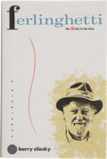 Books:First Editions, Barry Silesky. Ferlinghetti: the Artist in His Time. [NewYork]: Warner Books, [1990]. First edition, first printing...