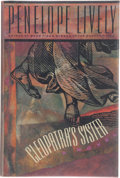 Books:First Editions, Penelope Lively. Cleopatra's Sister. [New York]:HarperCollins Publishers, [1993]. First edition, first printing.Pu...