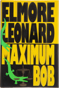 Books:First Editions, Elmore Leonard. Maximum Bob. [New York]: Delacorte Press,[1991]. First edition, first printing. Publisher's origina...