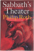 Books:First Editions, Philip Roth. Sabbath's Theater. Boston New York: HoughtonMifflin Company, 1995. First edition, first printing. Publ...
