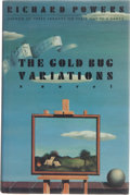 Books:First Editions, Richard Powers. The Gold Bug Variations. New York: WilliamMorrow and Company, Inc., [1991]. First edition, firs...