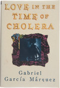 Books:First Editions, Gabriel García Márquez. Love in the Time of Cholera.Translated from the Spanish by Edith Grossman. New York: Alfred...