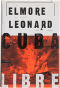 Books:First Editions, Elmore Leonard. Cuba Libre. [New York]: Delacorte Press,[1998]. First edition, first printing. Publisher's original...