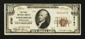 National Bank Notes:Pennsylvania, Stroudsburg, PA - $10 1929 Ty. 1 The First NB Ch. # 2787. ...