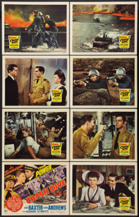 "Crash Dive (20th Century Fox, 1943). Lobby Card Set of 8 (11"" X 14""). War. ... (Total: 8 Items)"