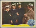"Movie Posters:Drama, Navy Blue and Gold (MGM, 1937). Lobby Card (11"" X 14""). Drama.. ..."