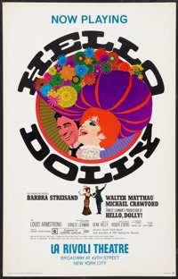 """Hello, Dolly! Lot (20th Century Fox, 1969). Window Cards (2) (14"""" X 22""""). Musical. ... (Total: 2 Items)"""