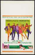 """Movie Posters:Rock and Roll, Mrs. Brown, You've Got a Lovely Daughter Lot (MGM, 1968). WindowCards (2) (14"""" X 22""""). Rock and Roll.. ... (Total: 2 Items)"""