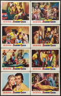"""Movie Posters:Adventure, The Diamond Queen (Warner Brothers, 1953). Lobby Card Set of 8 (11""""X 14""""). Adventure.. ... (Total: 8 Items)"""