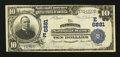 National Bank Notes:Pennsylvania, Plymouth, PA - $10 1902 Plain Back Fr. 624 The Plymouth NB Ch. #(E)6881. ...