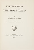 Books:Children's Books, Elizabeth Butler. Letters from the Holy Land. London: Adamand Charles Black, 1906. Later edition. Sixteen color...