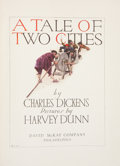 Books:Literature Pre-1900, Charles Dickens. A Tale of Two Cities. Philadelphia: DavidMcKay Company, n.d. Hardcover edition. 362 pages. Illustr...