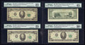 Error Notes:Error Group Lots, A Quartet of $20 Federal Reserve Note Errors.. ... (Total: 4 notes)
