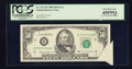 Error Notes:Foldovers, Fr. 2123-B $50 1988 Federal Reserve Note. PCGS Extremely Fine45PPQ.. ...
