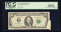 Error Notes:Attached Tabs, Fr. 2173-B $100 1990 Federal Reserve Note. PCGS Extremely Fine45PPQ.. ...