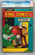 Golden Age (1938-1955):Miscellaneous, King Comics #88 Rockford pedigree (David McKay Publications, 1943) CGC NM- 9.2 Off-white to white pages....