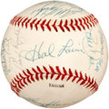 Baseball Collectibles:Balls, 1988 Houston Astros Team Signed Baseball (25 Signatures)....