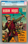 Silver Age (1956-1969):Adventure, Robin Hood Tales #2 (Quality, 1956) CGC FN/VF 7.0 Off-white to white pages....