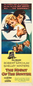 "Movie Posters:Film Noir, The Night of the Hunter (United Artists, 1955). Insert (14"" X36"").. ..."