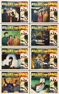"Movie Posters:Science Fiction, Killers from Space (RKO, 1954). Lobby Card Set of 8 (11"" X 14"")..... (Total: 8 Items)"