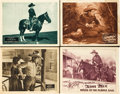"Movie Posters:Western, Tom Mix Lot (Fox, 1923, 1925). Lobby Cards (4) (11"" X 14"").. ... (Total: 4 Items)"