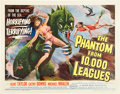 "Movie Posters:Science Fiction, The Phantom From 10,000 Leagues (American Releasing Corp., 1955).Half Sheet (22"" X 28"").. ..."