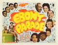 """Movie Posters:Black Films, Ebony Parade (Astor Pictures, 1947). Half Sheet (22"""" X 28"""").. ..."""