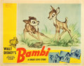 "Movie Posters:Animation, Bambi (RKO, 1942). Lobby Cards (2) (11"" X 14"").. ... (Total: 2 Items)"