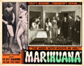 "Movie Posters:Exploitation, Marihuana (Roadshow Attractions, 1936). Lobby Card (11"" X 14"").. ..."